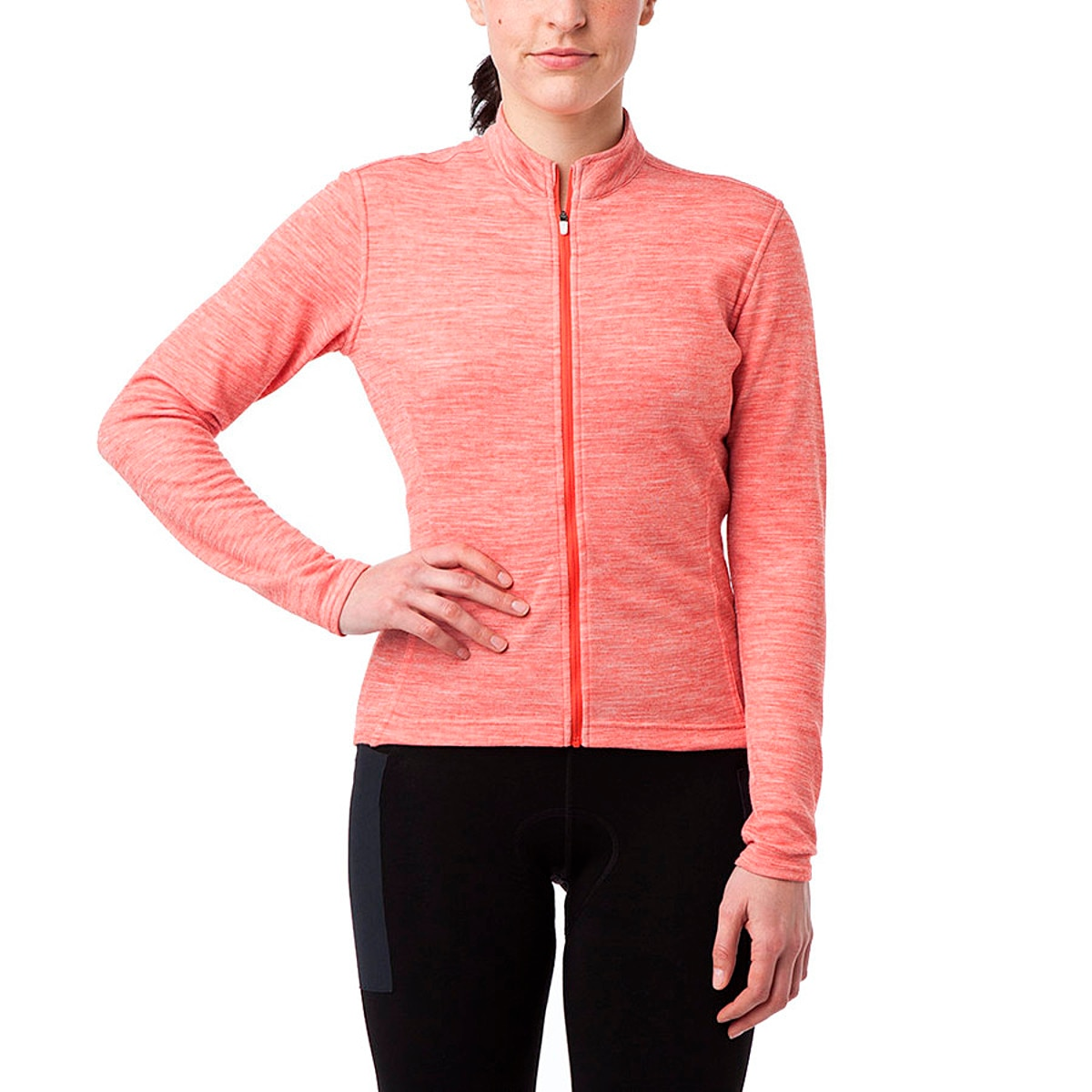 Giro Ride Full Zip Jersey Long Sleeve Women's
