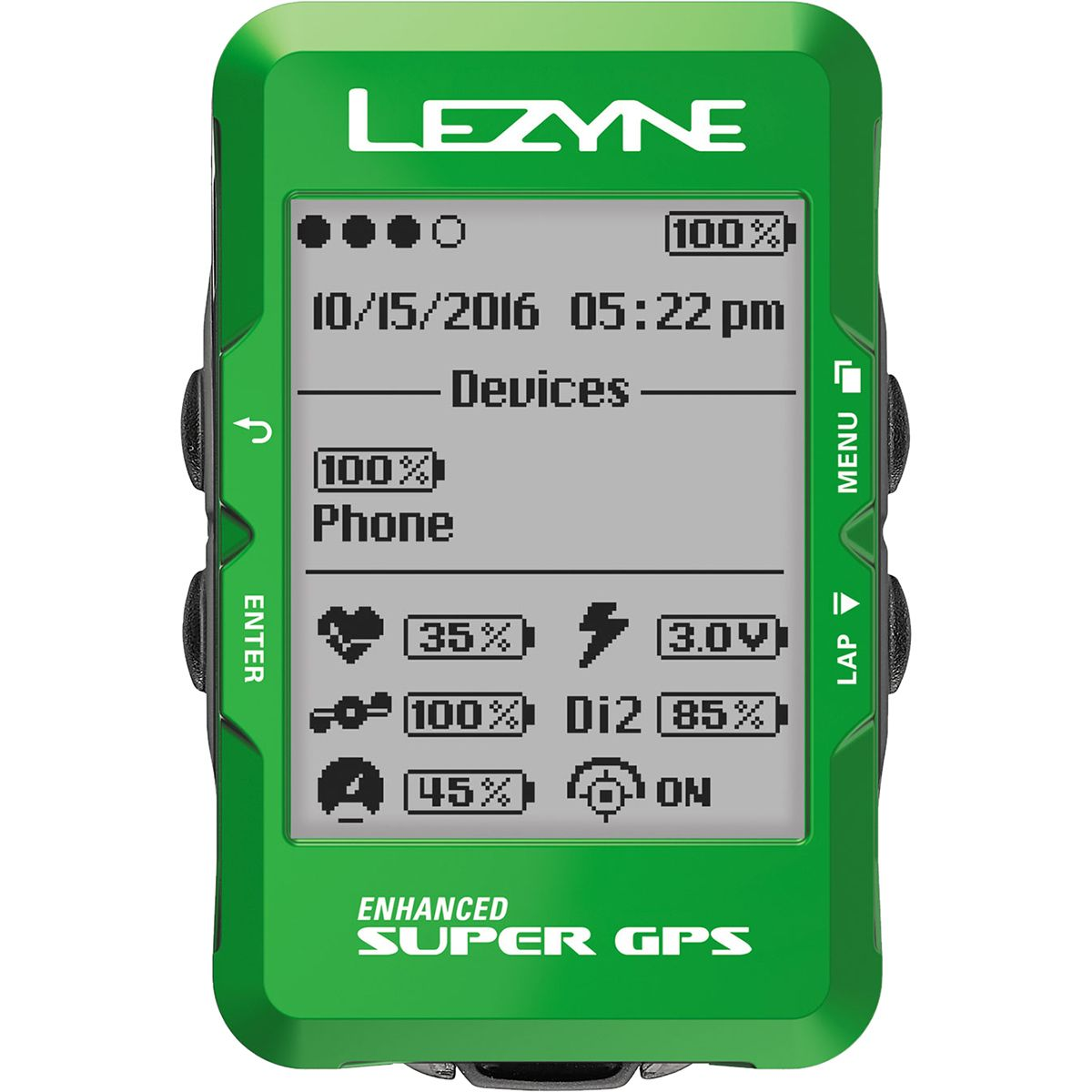 Lezyne Super Limited Holiday Edition GPS Bike Computer