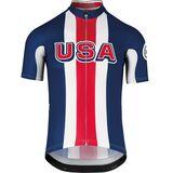 Mens Road Bike Jersey Assos SSjersey USA Cycling
