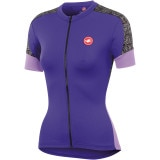 Castelli Scarabocchio Full-Zip Jersey - Short Sleeve - Women's