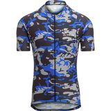 De Marchi Camo Short-Sleeve Jersey - Men's