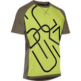 Mens Jersey ION Letters Scrub AMP Short Sleeve