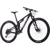 Xc Full Suspension Mountain Bike Santa Cruz Blur Carbon CC X01 Eagle Reserve Complete