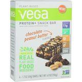 Vega Protein Plus Snack Bar - 4-Pack