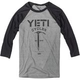 Yeti Cycles Ice Axe Baseball Tee Long-Sleeve Jersey - Men's