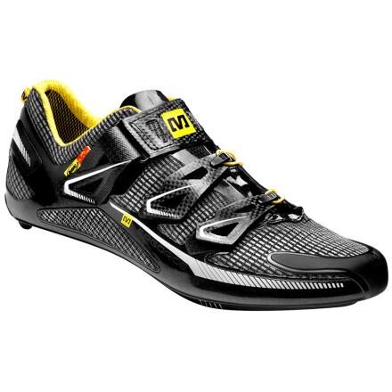 Mavic Huez Shoes Black/White, 11.5 - Men's