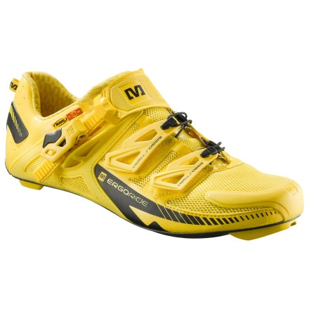 Mavic Zxellium Maxi Shoes Yellow Mavic, 9.5 - Men's