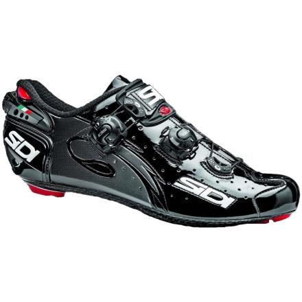 Sidi Wire Men's Shoes Black Vernice, 45.5 - Men's
