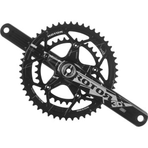3D Plus Road Crankset With Round Chanrings